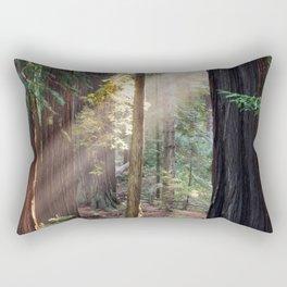 Hiding From The Dark Rectangular Pillow