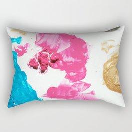 Dried paint. Rectangular Pillow