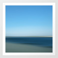 bluesablo - seascape no.19 Art Print