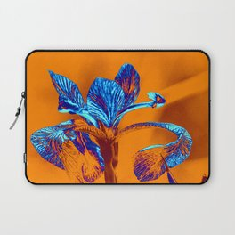 Glowing Iris... Laptop Sleeve
