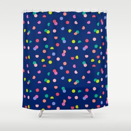 Colourpop Confetti Shower Curtain