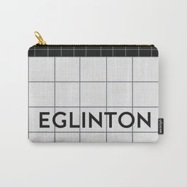 EGLINTON   Subway Station Carry-All Pouch