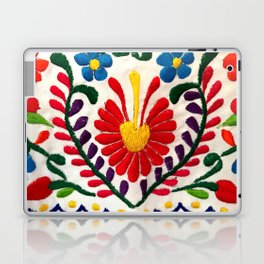 Red Mexican Flower Laptop & iPad Skin
