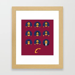 The Contenders - CLE Framed Art Print