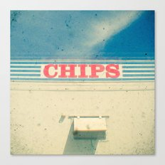 Chips Canvas Print
