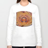 wine Long Sleeve T-shirts featuring Summer Wine by EliB-Art