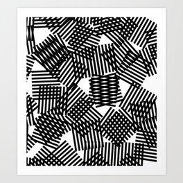 random pattern - april/10 Art Print