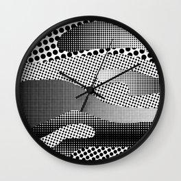 Black White Sea Wall Clock