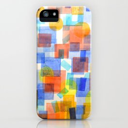 Different Things Fall Differently iPhone Case
