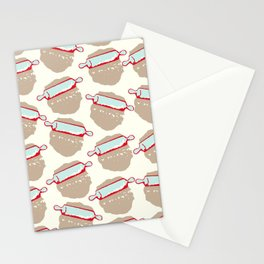 Rolling Pins Stationery Cards