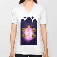 marceline V-neck T-shirts featuring Marceline v2 by Pablo González Mora