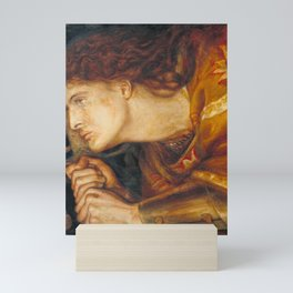 Dante Gabriel Rossetti Joan of Arc 1864 Mini Art Print