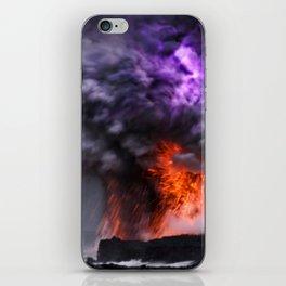 Kilauea Volcano at Kalapana 7 iPhone Skin