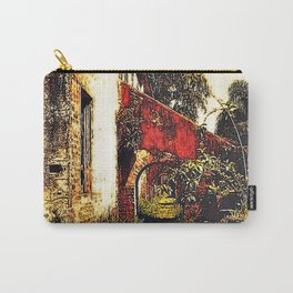 Under the stairwell - Florest Navarro de Andrade Carry-All Pouch
