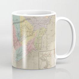 Vintage Map of California (1860) Coffee Mug