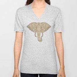 Elephant Mandala Unisex V-Neck