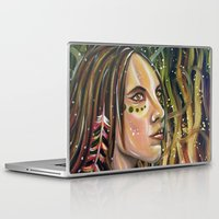 phoenix Laptop & iPad Skins featuring phoenix by Beth Jorgensen