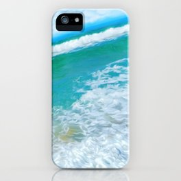 In the middle of the day iPhone Case