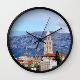 Split, Croatia Wall Clock