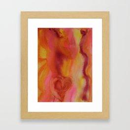 Warm Heart  Framed Art Print