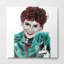 Dr. Nation McKinley ~Patricia Quinn~ Color Metal Print