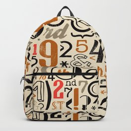 All Numbers - 2018 - Notebooks & more Backpack