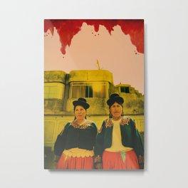 Altiplano Diaries: Watercolor Metal Print