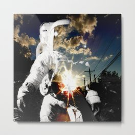 I've Got Sunshine on a Cloudy Day Metal Print