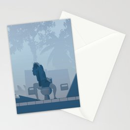 Jurassic Park poster - feat. Donald Gennaro Stationery Cards