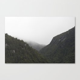 The Misty Mountains Call Canvas Print