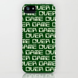 Game Over (i) iPhone Case