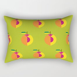 Fruit: Peach Rectangular Pillow