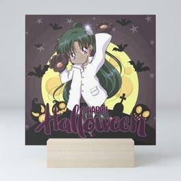 Happy Halloween Setsuna Mini Art Print