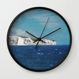 WHITE CLIFFS Wall Clock