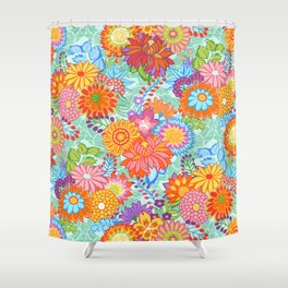 Jubilee Blooms Shower Curtain