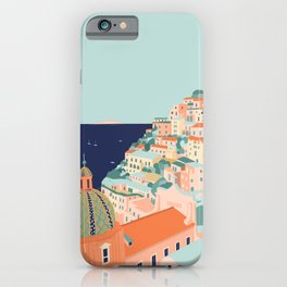 Amalfi coast, Positano, Italy iPhone Case