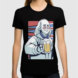 Franklin beer memorial day gift T-shirt