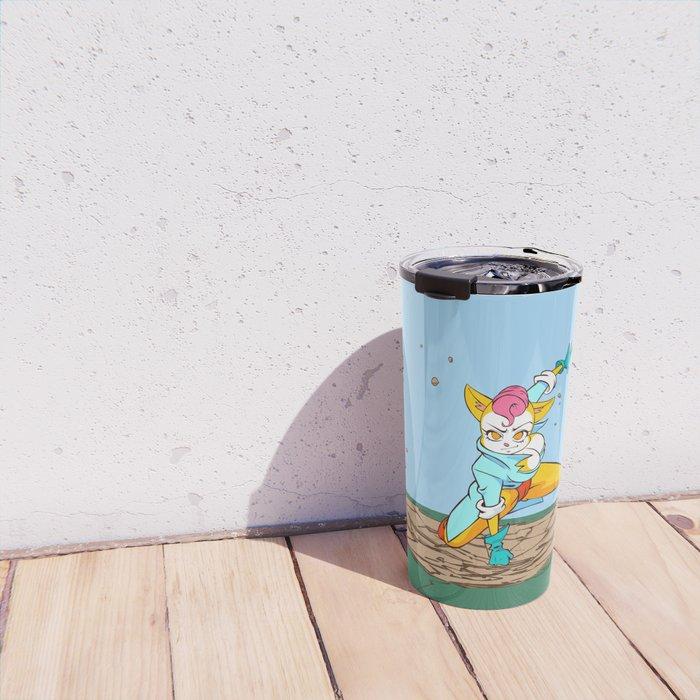 The Pussycat' impact (Peepoodo) Travel Mug