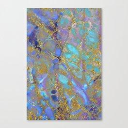 Where Mermaids Sing #buyart #marbled #decor #society6 Canvas Print