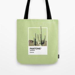 Pantone Series – Cactus Tote Bag