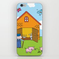farm iPhone & iPod Skins featuring Farm by oekie