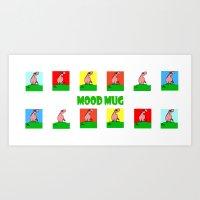 Mood Mug Art Print
