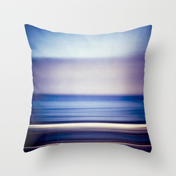 Blue Purple Throw Pillows : stripes of blue and purple Throw Pillow by bonniemartin Society6