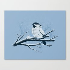 North For The Winter. Canvas Print