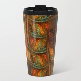 Abstract Totem Travel Mug