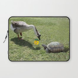 The Turtle and the Goose Laptop Sleeve