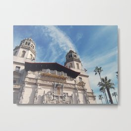 Hearst Castle Metal Print