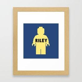 Riley Block Framed Art Print
