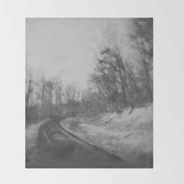 Railroad Throw Blanket