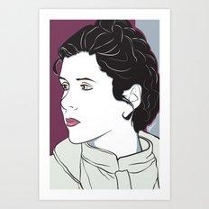 Icy Princess Art Print